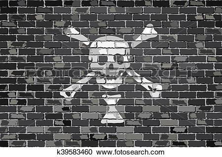 Stock Illustrations of Emanuel Wynn pirate flag k39583460.