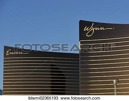 "Stock Photo of ""Wynn and Encore luxury hotel, Las Vegas, Nevada."