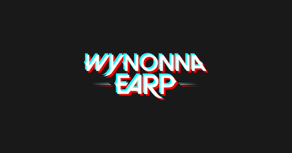 Wynonna Earp Glitch Logo.