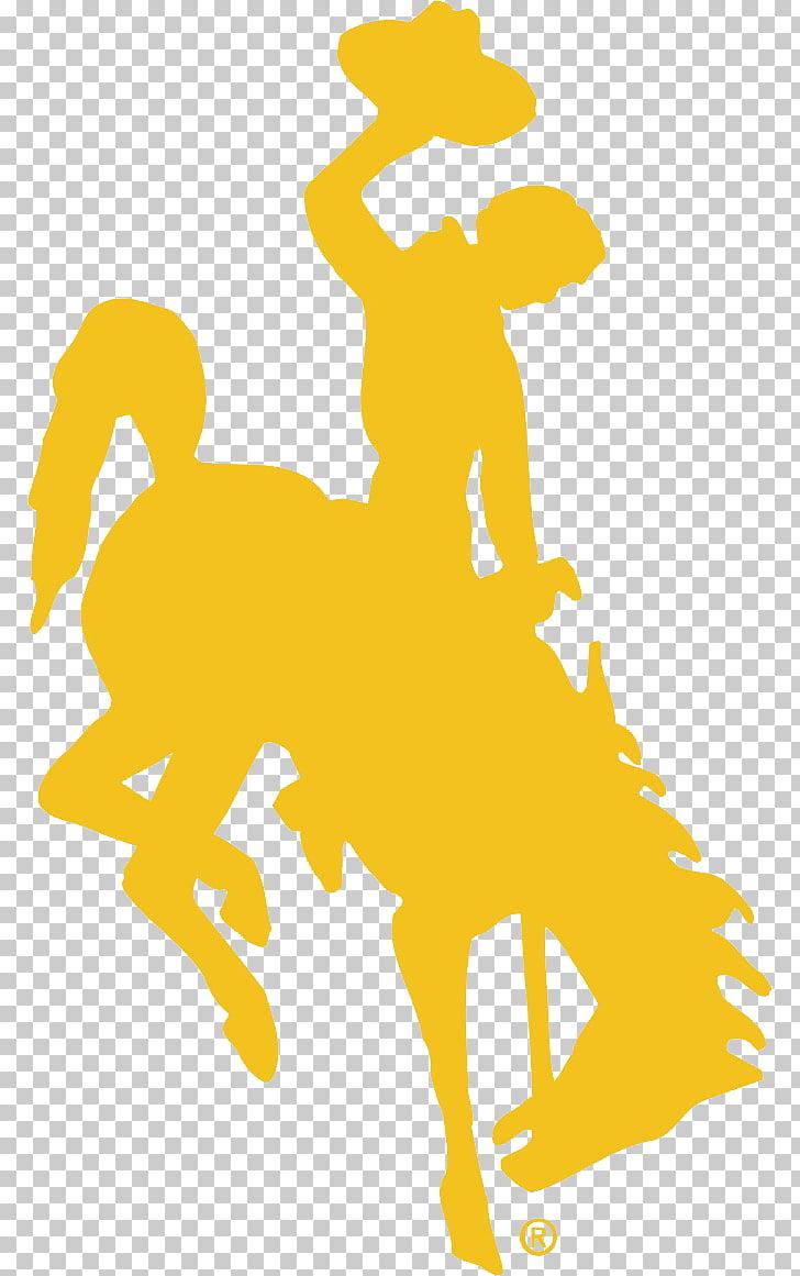 University of Wyoming Bucking Horse and Rider Wyoming.