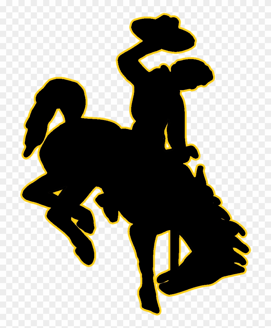 Wyoming Cowboys Clipart (#991855).
