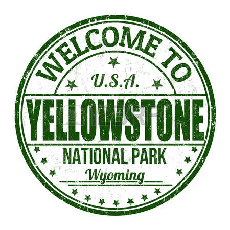 Yellowstone National Park Clipart.