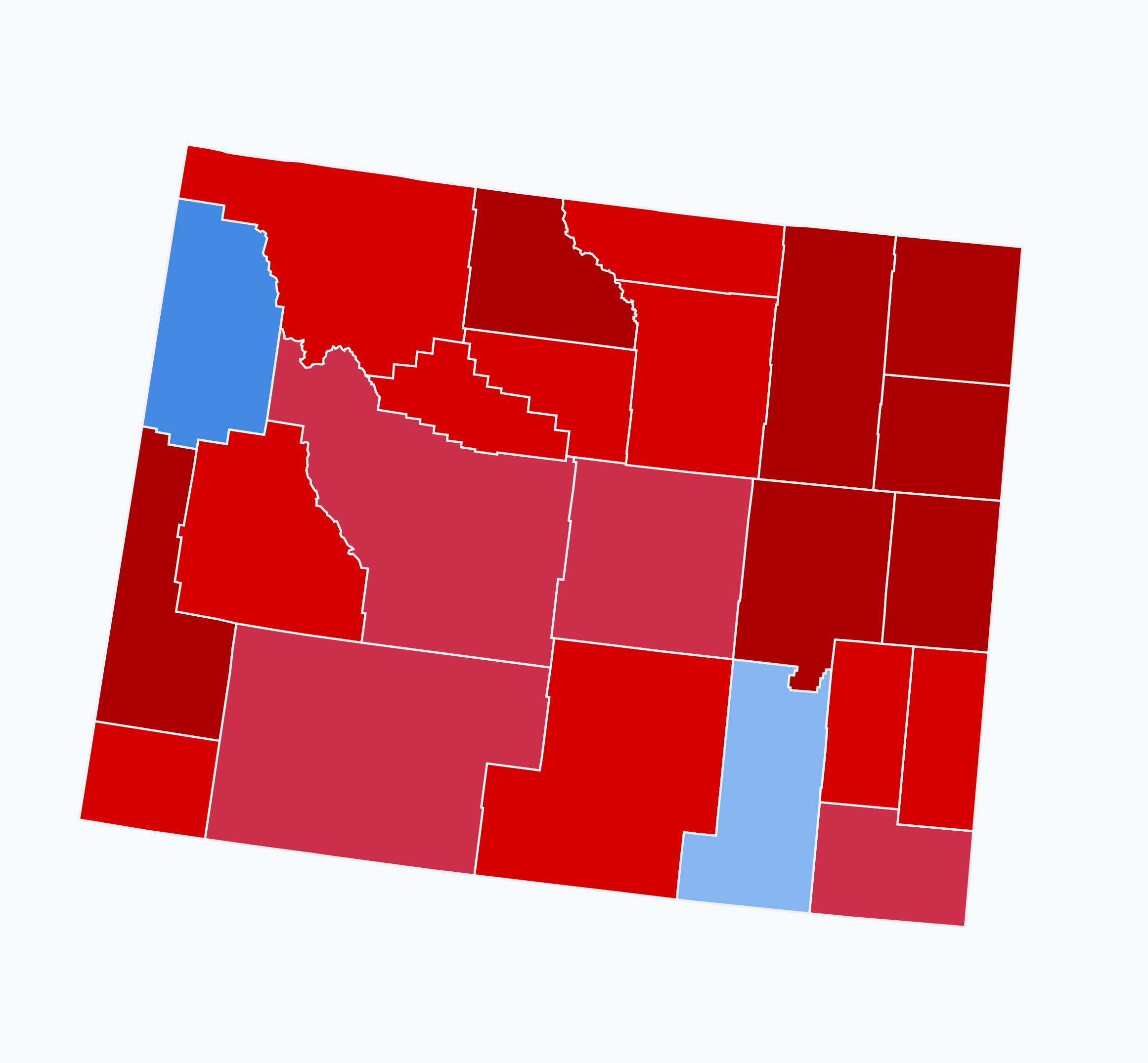 File:2018 Senate election results in Wyoming.png.