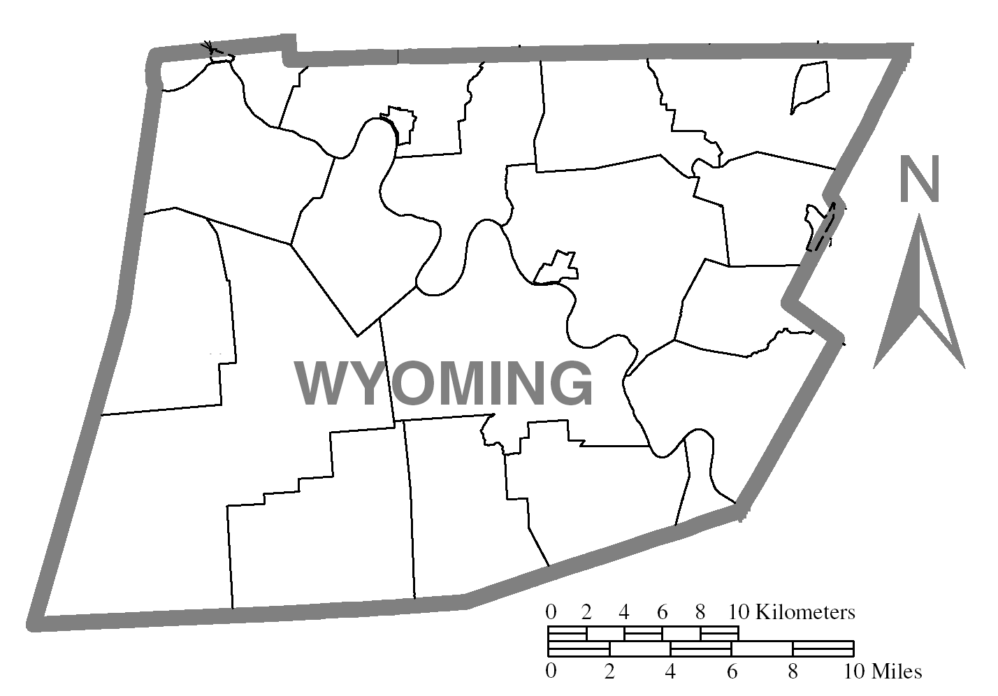 File:Map of Wyoming County, Pennsylvania No Text.png.