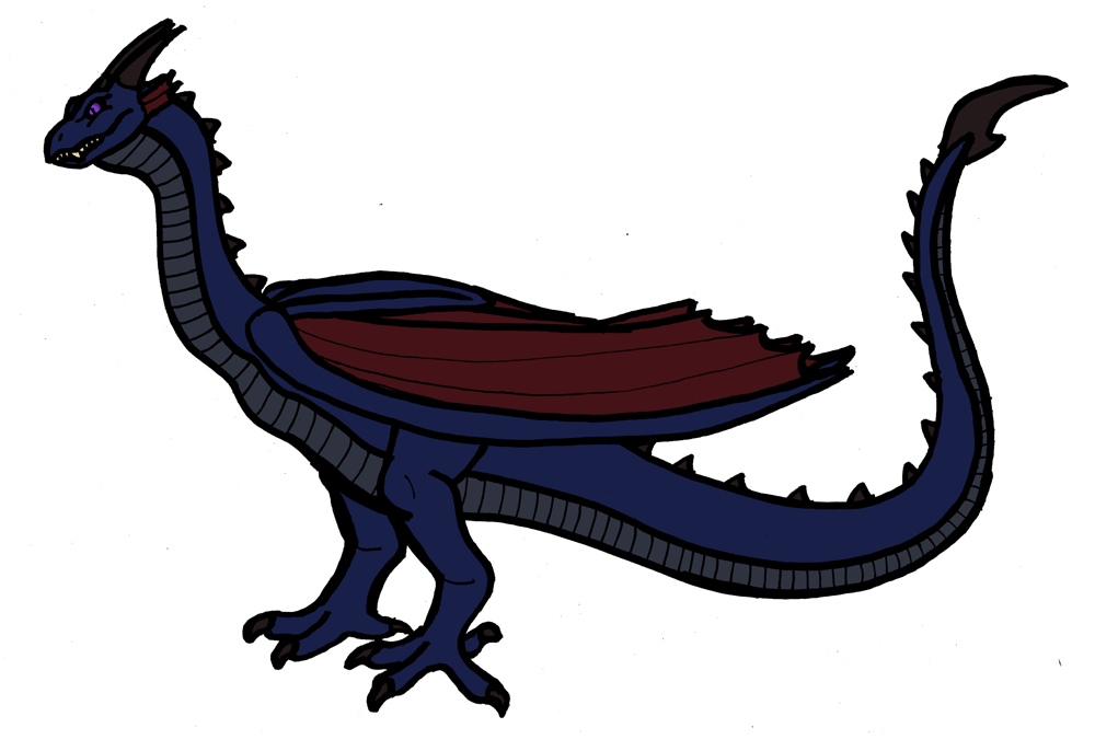 Dragon Wyvern Fire breathing Clip art.
