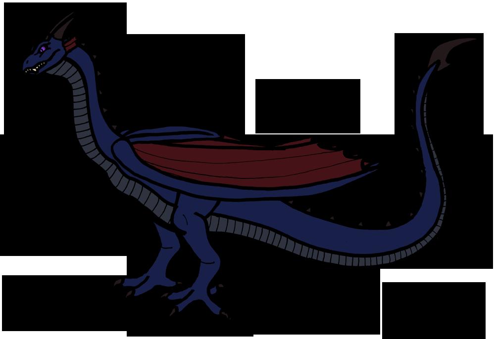 Dragon Wyvern Fire breathing Clip art.