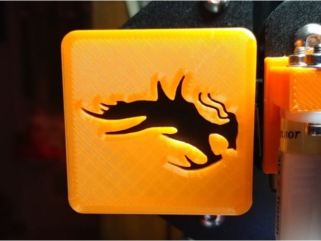Ender 3 X Axis Logo Cap by SharperGnome.