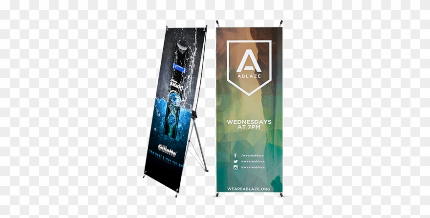 X Banner Stands.