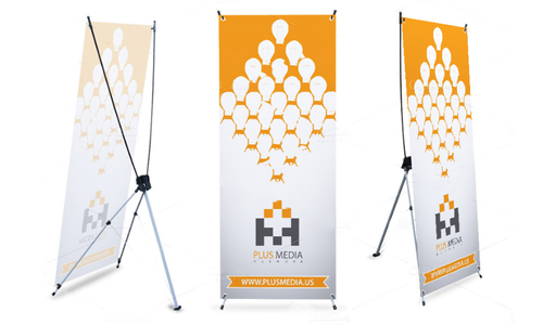 X Banner Standee.