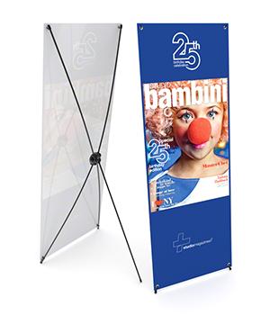 X Banner Printing in Australia.