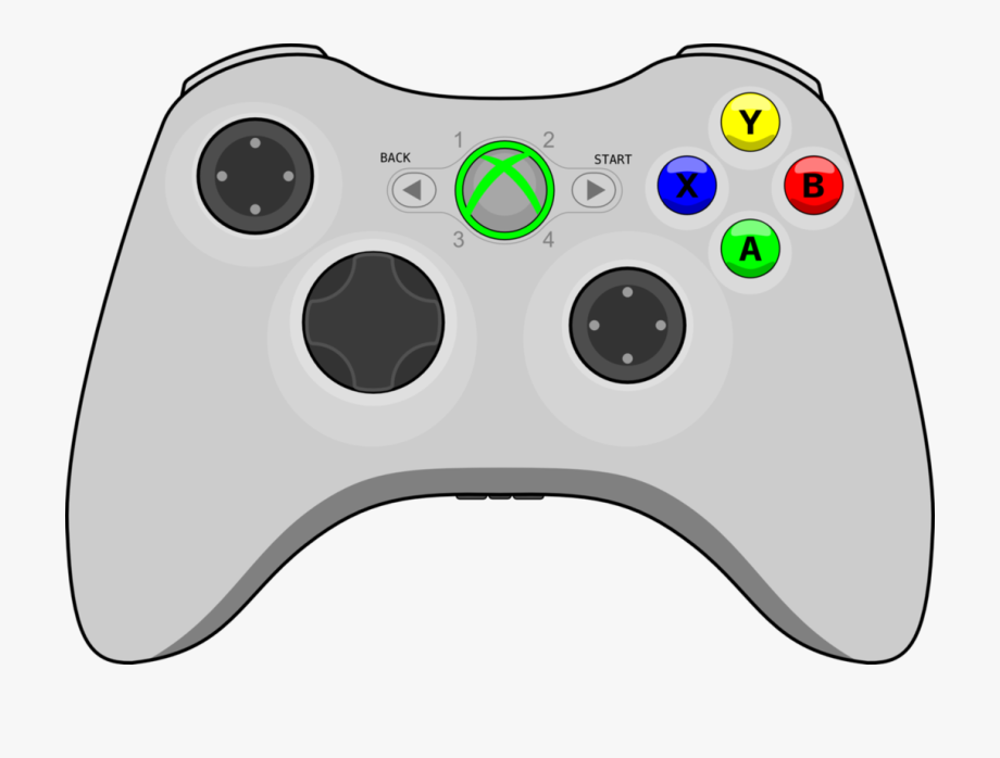 Video Game Clipart Vector.