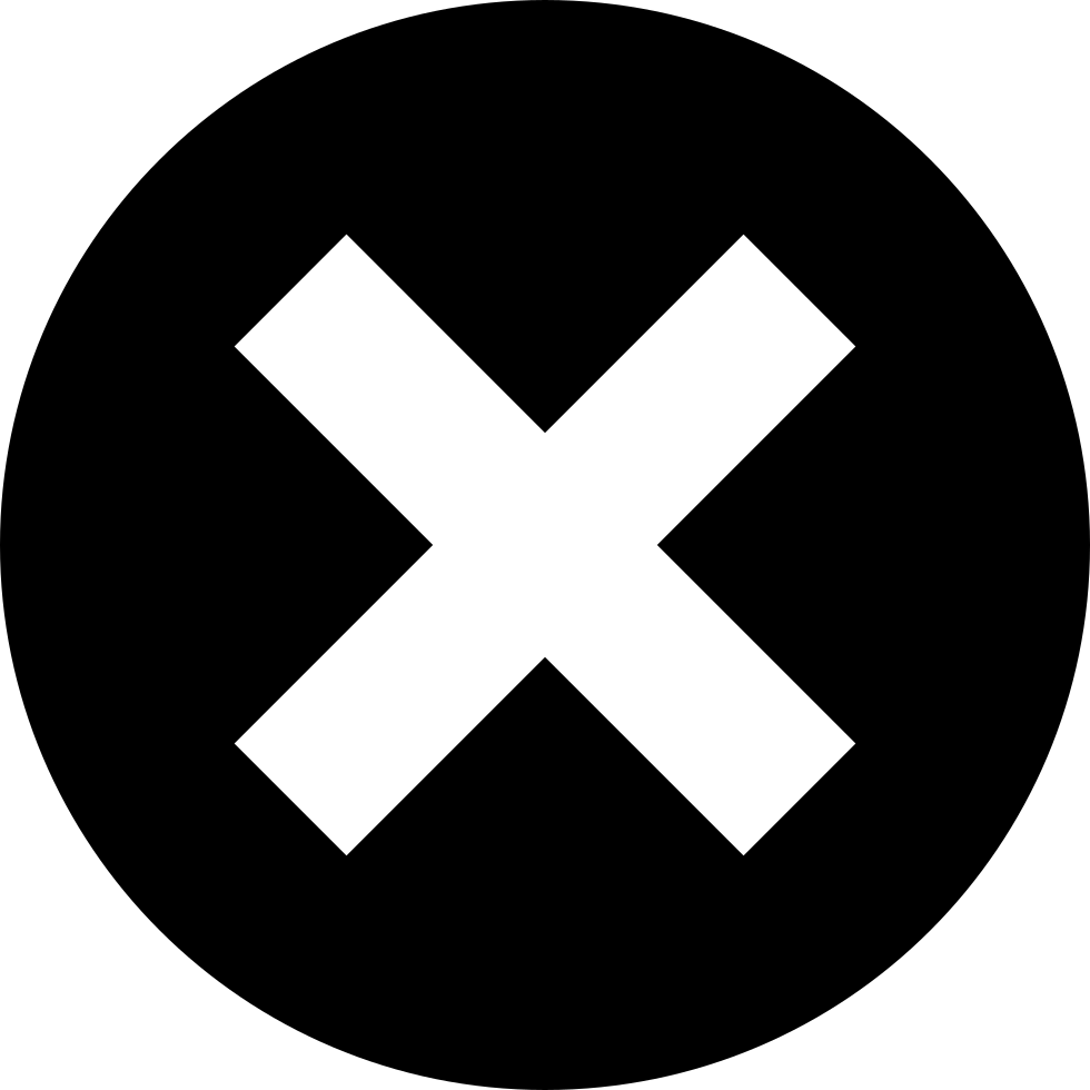 X Button Svg Png Icon Free Download (#20085).