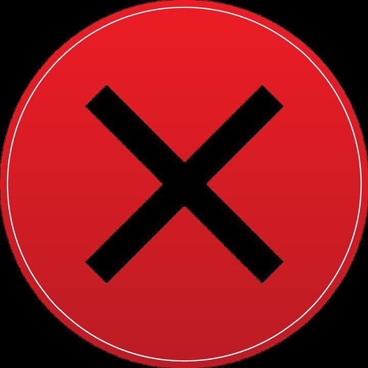 X Exit Button.