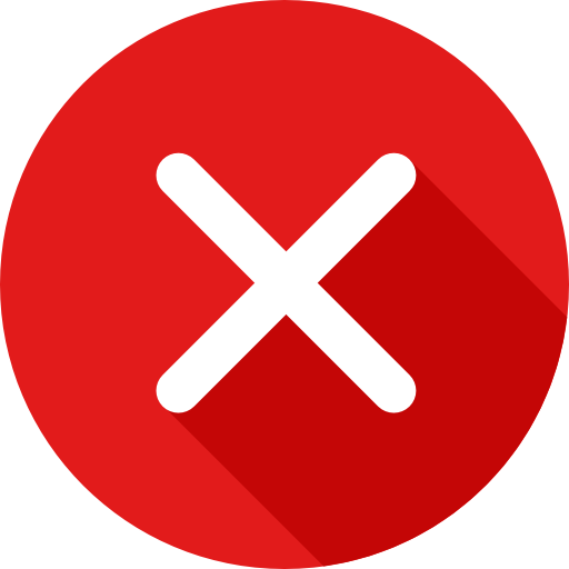 X button.