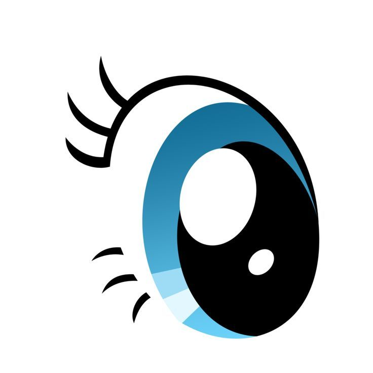 Green Eyes Clipart animated 19.