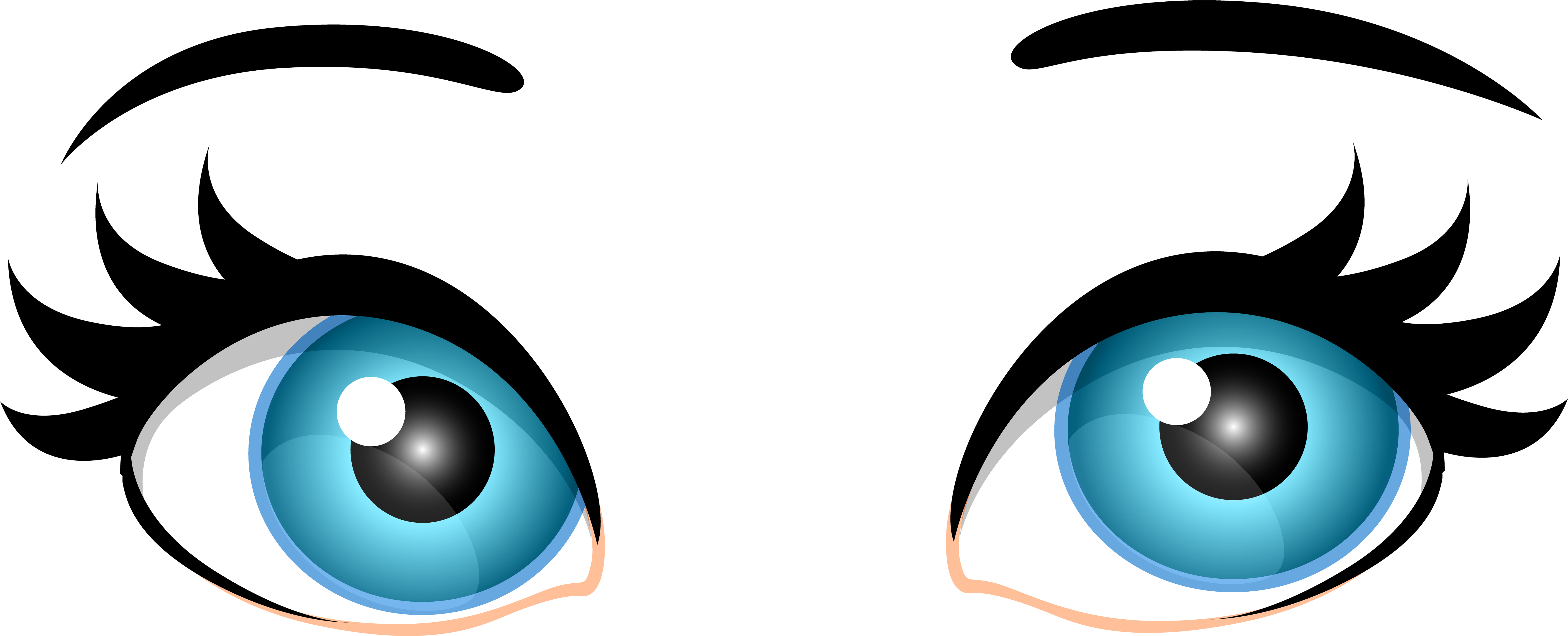 25 Eyes clipart transparent for free download on Premium art.