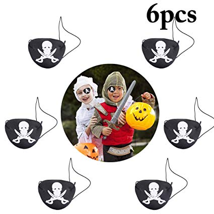 Amazon.com: Joyibay 6PCS Halloween Eye Mask Skeleton Head.