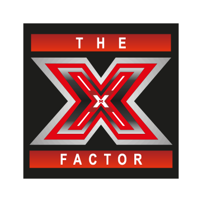 The X Factor vector logo free.