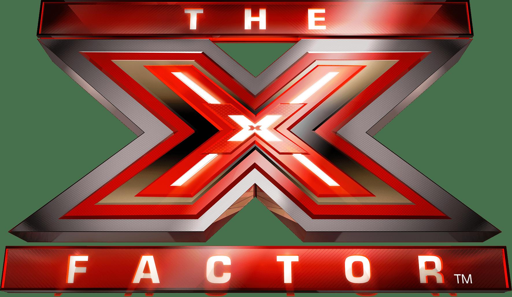 X Factor Logo transparent PNG.