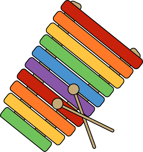 484 Xylophone free clipart.