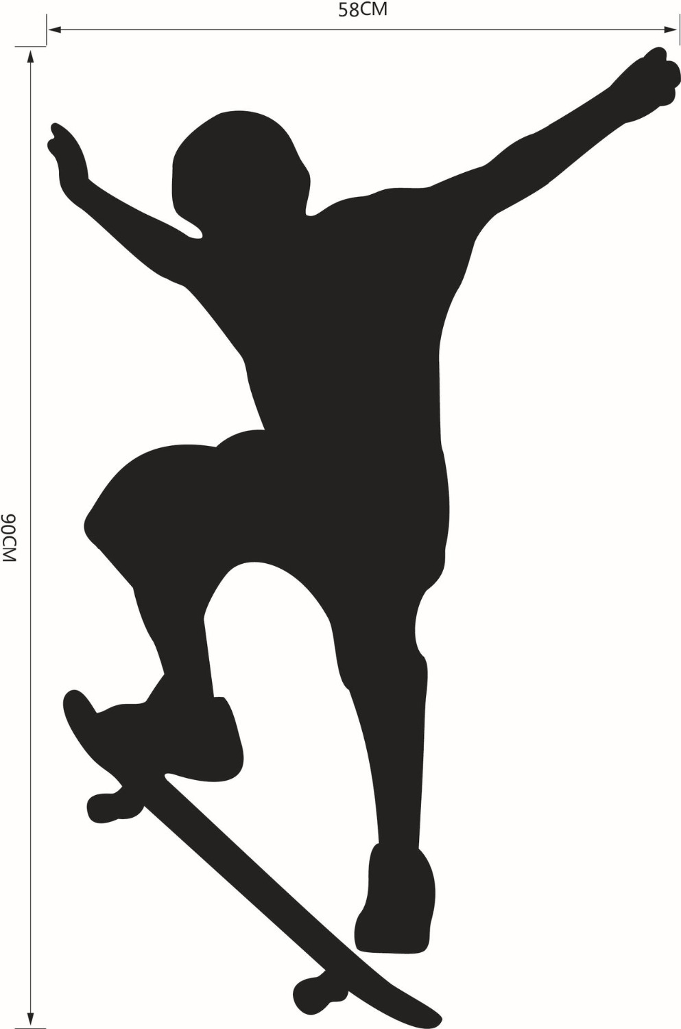 Aliexpress.com : Buy Skate sport X games maximal Wall Sticker.