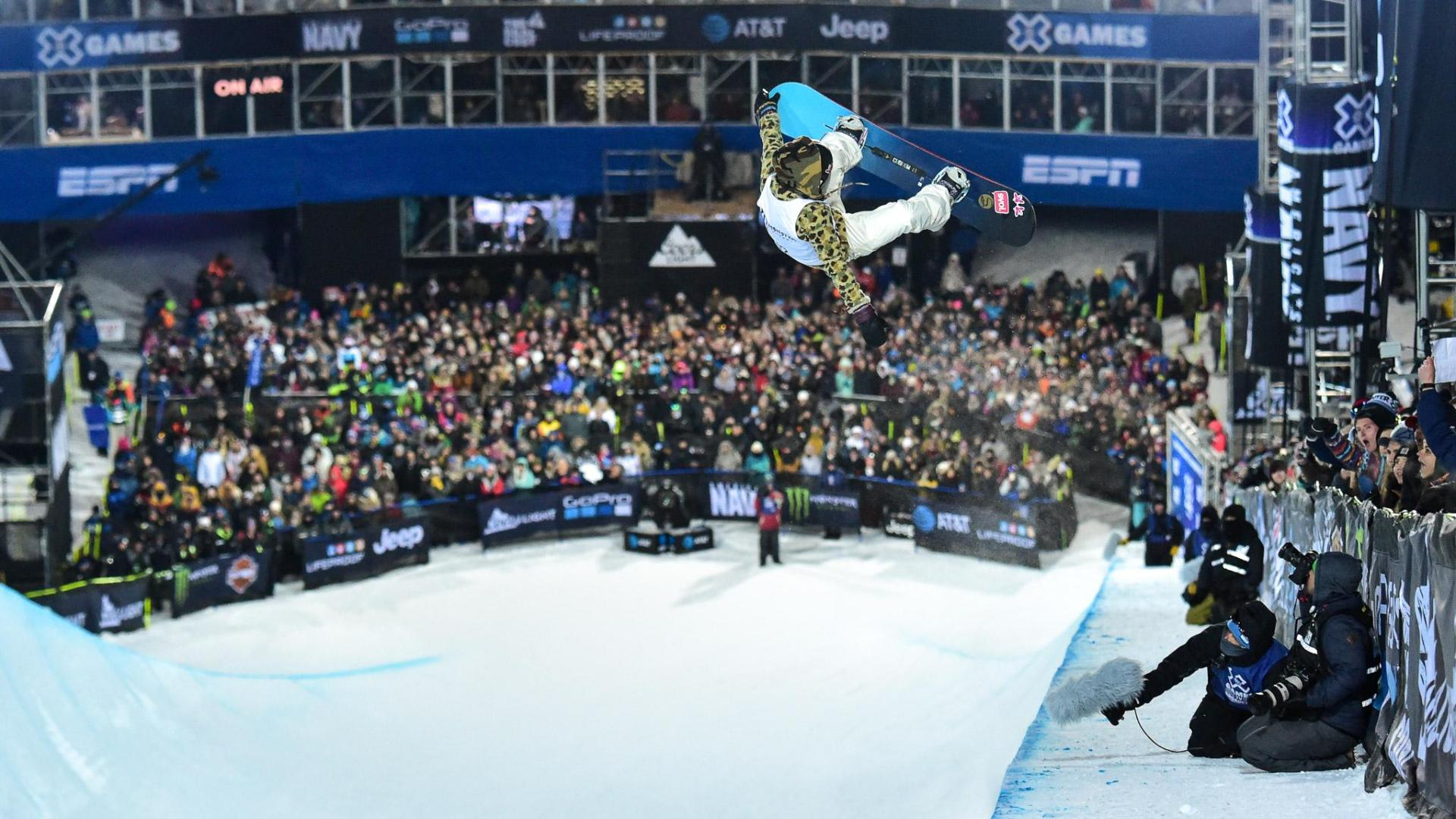 X Games and action sports video.