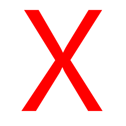 Red X Icon Png Vector, Clipart, PSD.