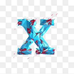 The Letter X PNG Images.