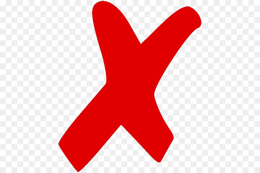 X Mark Symbol Cross Clip Art Png Download 525 600 Free Pretty.