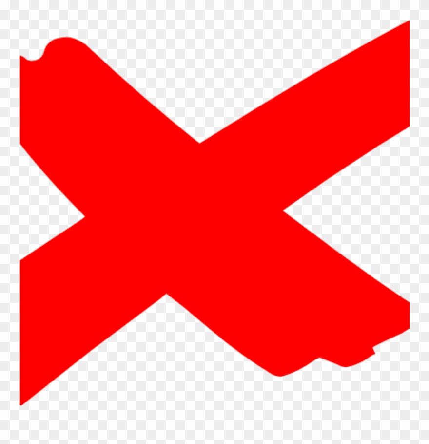 Red X Clipart Red X Clipart X Marks The Spot 2 Clip.