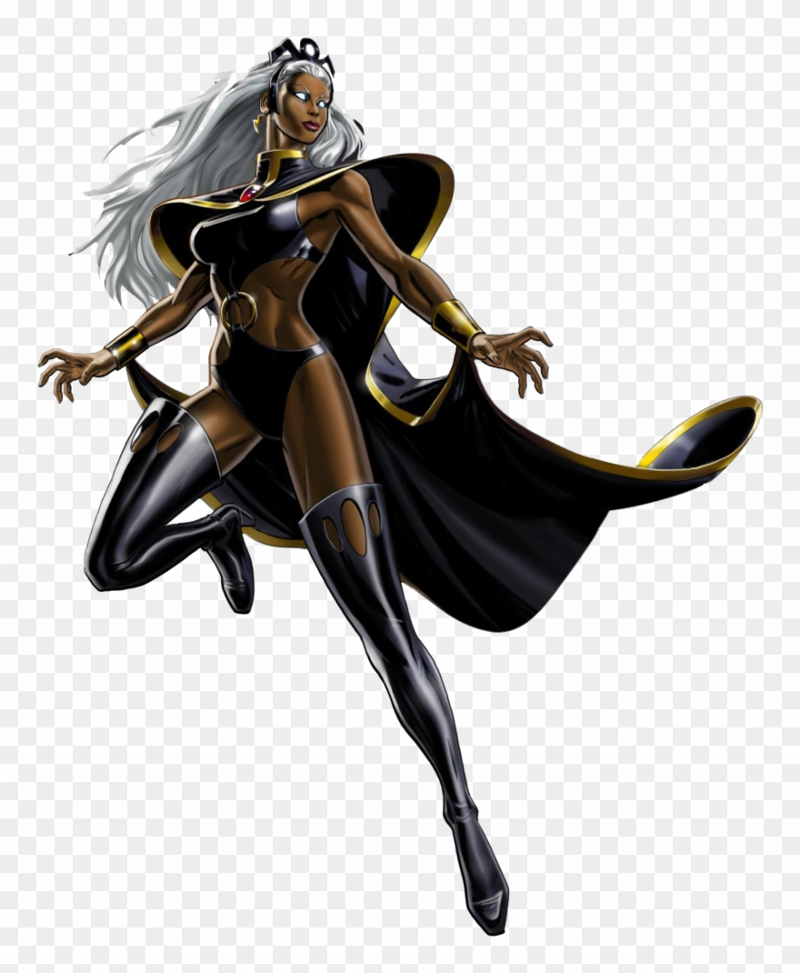 Storm X Men Clipart.