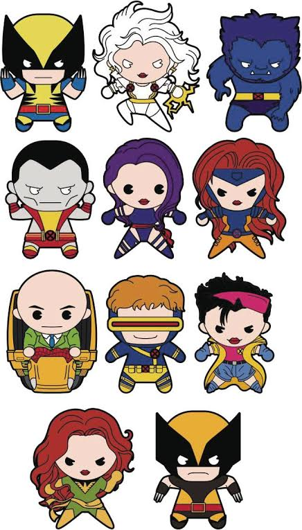 X Men Clipart.