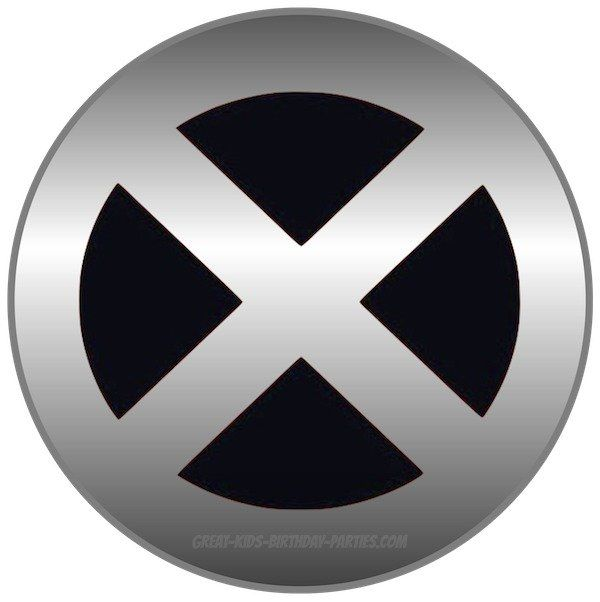 X MEN Logo.