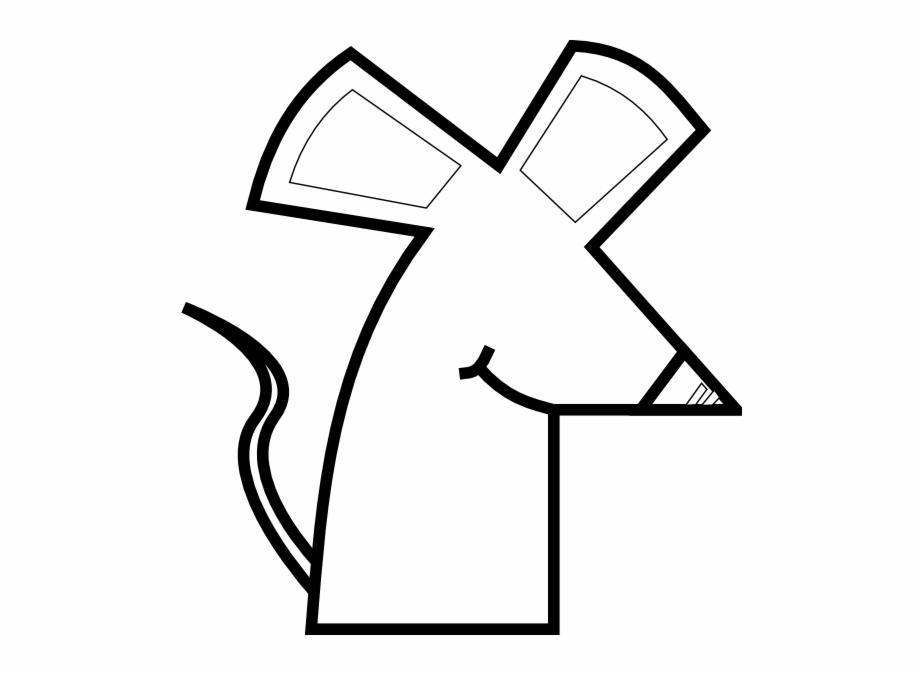 Rat Outline Svg Clip Arts 564 X 595 Px.