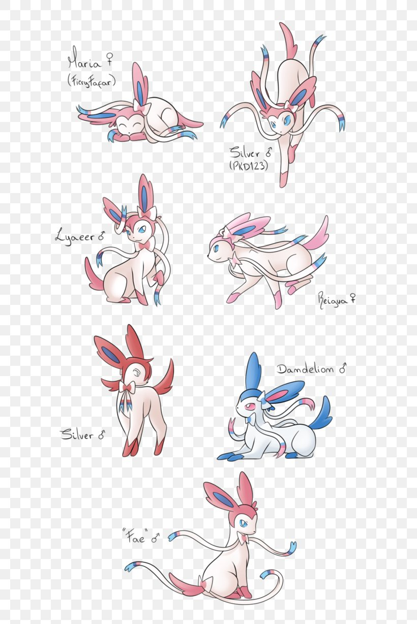 Sylveon Pokémon X And Y Drawing Clip Art Illustration, PNG.