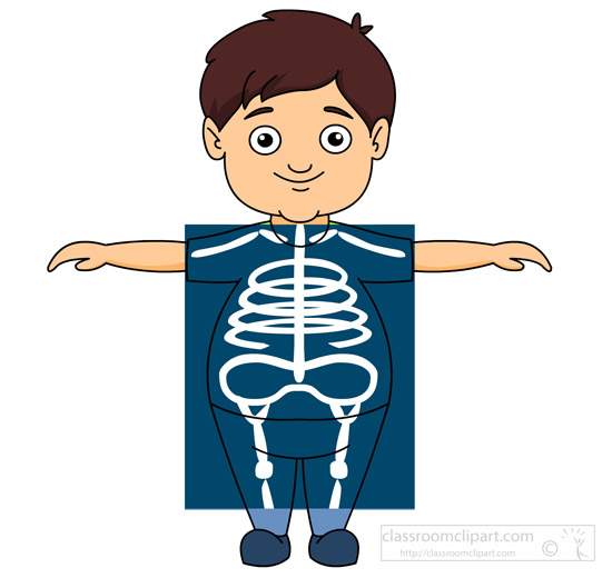 Boy taking an x ray » Clipart Station.