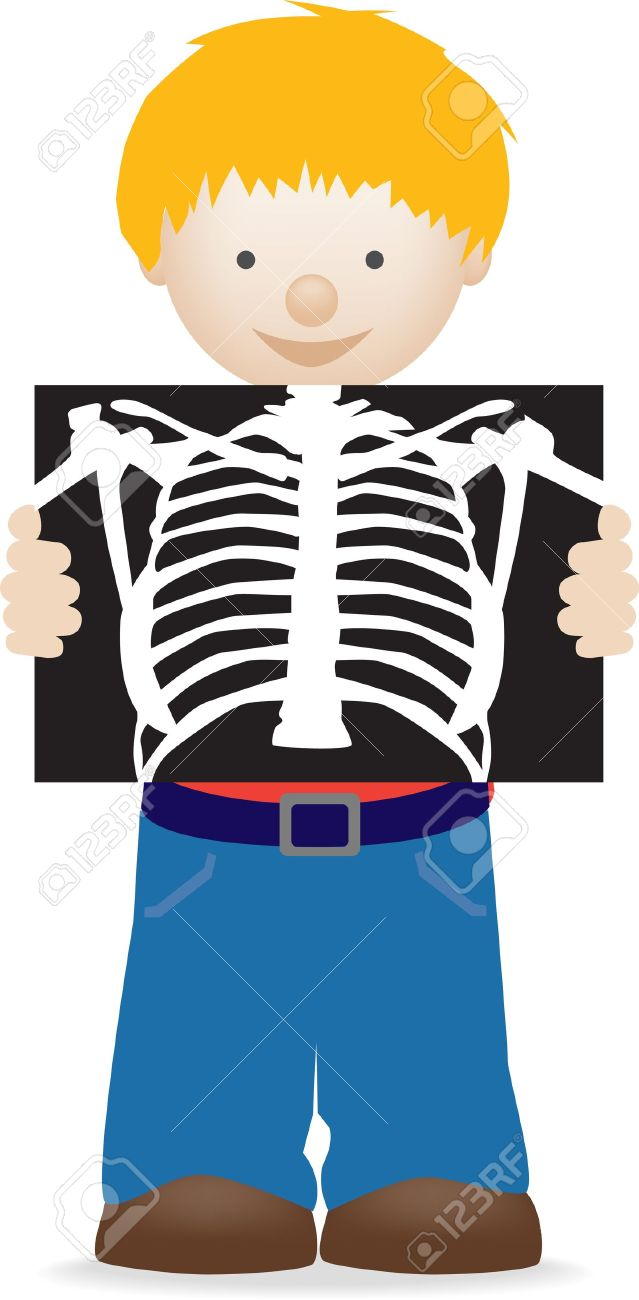 X Ray Clipart For Kids.