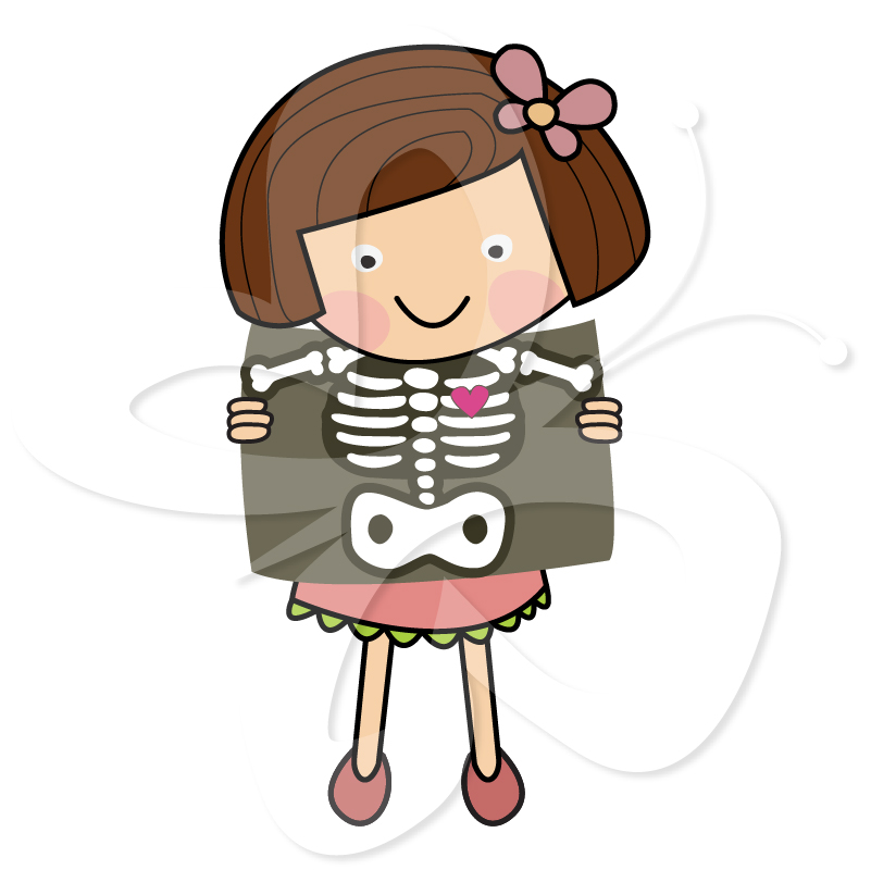 Clipart Of X Ray.