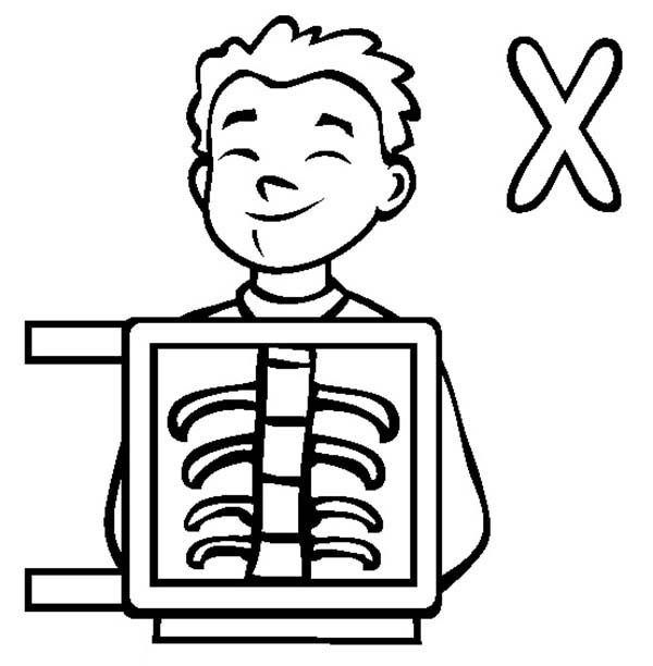 Xray Coloring Pages.