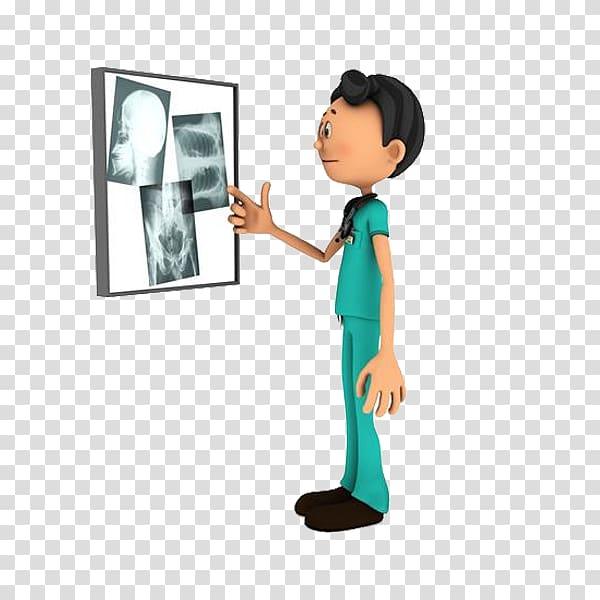 Male nurse standing in front of x.