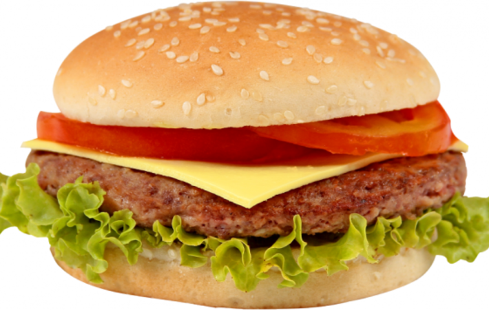 HD X Burger Png.
