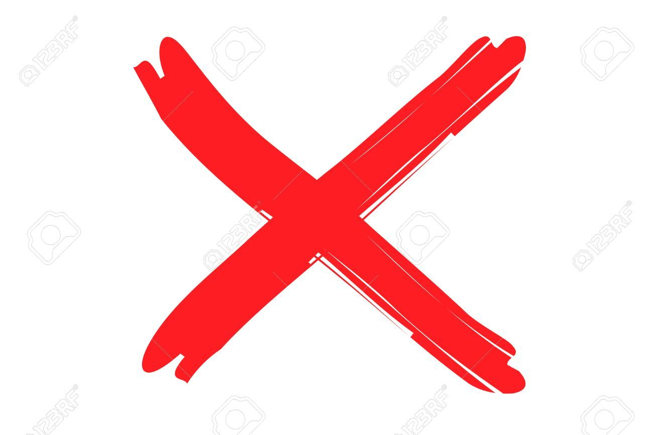 Red X sign » Clipart Portal.