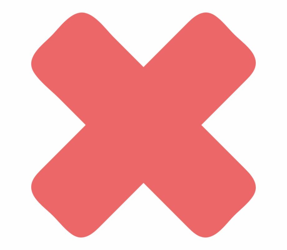 Cross Mark, Red, Sign, Icon, Mark, Symbol, Cross.