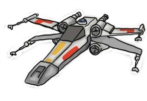X wing clipart 2 » Clipart Station.