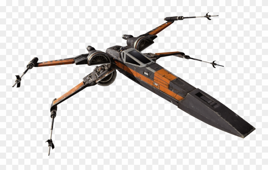 T 70 X Wing Fighter.