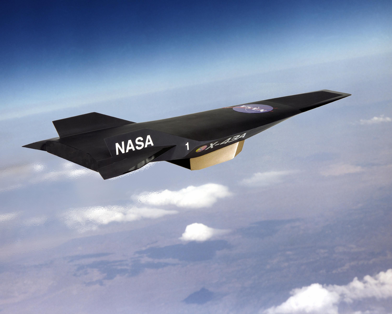 U.S. Hypersonic Aircraft.
