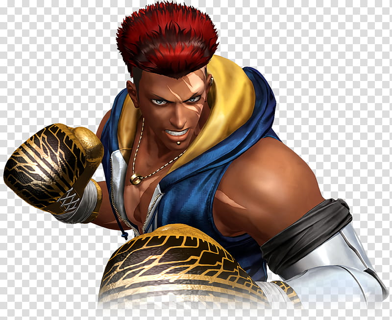 Nelson The King of Fighters XIV transparent background PNG.