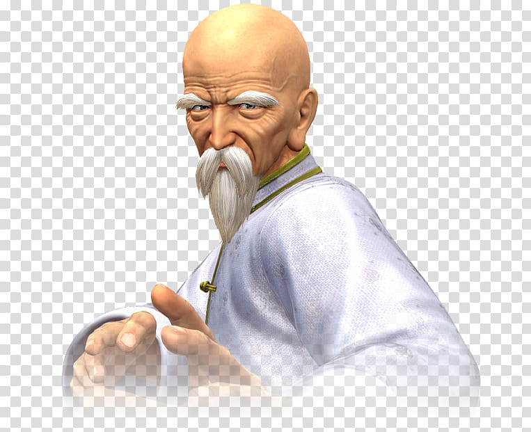 Tung Fu Rue The King of Fighters XIV transparent background.