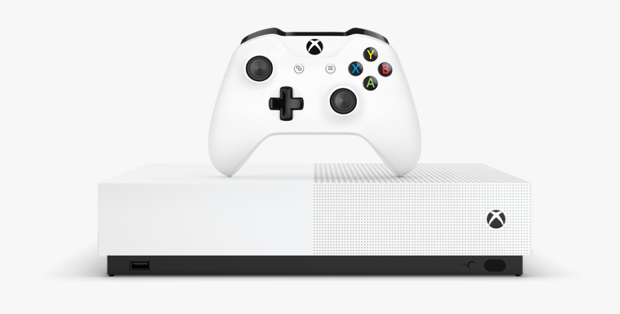 Xbox One S All Digital , Free Transparent Clipart.