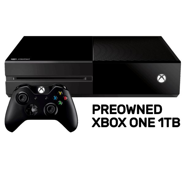 Xbox One 1TB Console (Refurbished by EB Games) (preowned).
